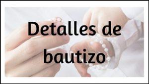ObsequioBoda - Detalles de bautizo